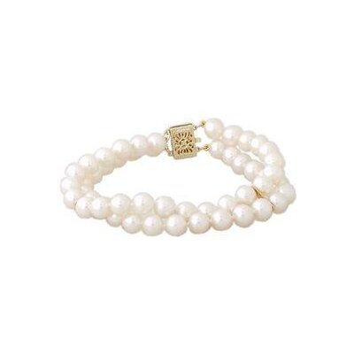 Round Cultured Pearl Beaded Bracelet