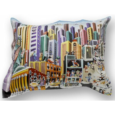 ARTnBED My New-York Cotton Sham