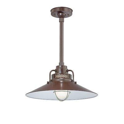 R Series 1 Light Kitchen Island Pendant