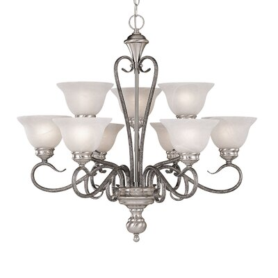 Devonshire 9 Light Chandelier