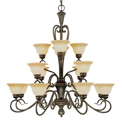 Millennium Lighting Devonshire 16 Light Chandelier