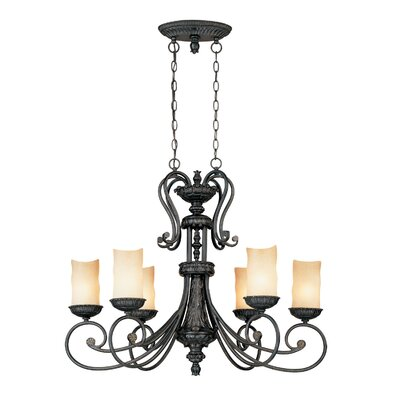Millennium Lighting Brunswick 6 Light Kitchen Pendant Lighting