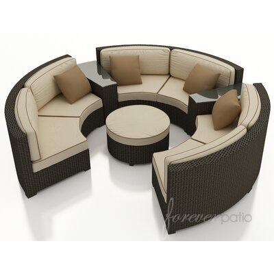 Forever Patio Hampton 6 Piece Deep Seating Group with Cushion