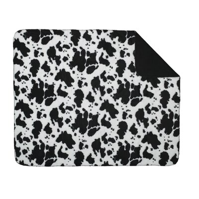 Acrylic Cow Double-Sided Throw