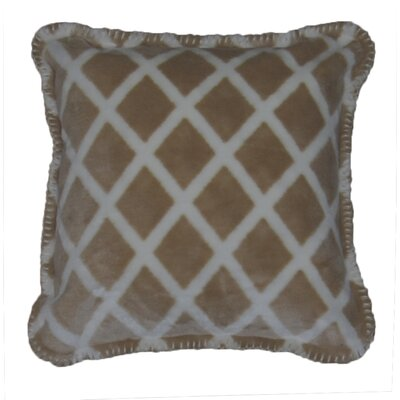 Denali Throws Acrylic / Polyester Lattice Pillow