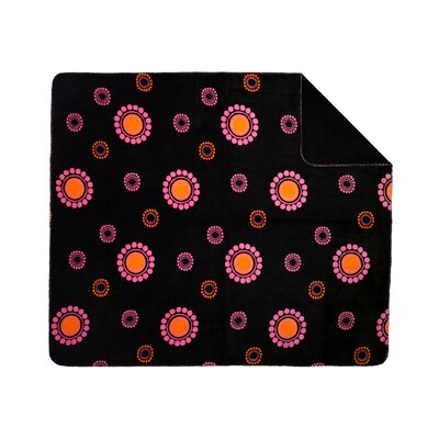 Denali Throws Acrylic Polka Dot Double-Sided Throw