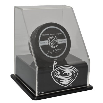 Caseworks International NHL Single Hockey Puck Display Case with Angled Base