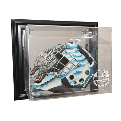Caseworks International NHL Goalie Mask Case Up Display Case in Black