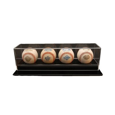 Caseworks International Four Baseball Display Case