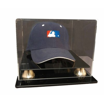 "Caseworks International 6.875"" Cap Display with Gold Risers"