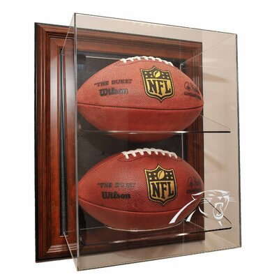 "Caseworks International Three Football ""Case-Up"" Display"