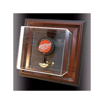 "Caseworks International Single Puck ""Case-Up"" Display in Brown"