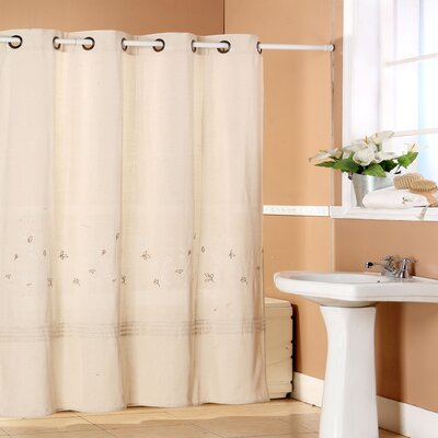 Mariso Polyester Shower Curtain with Grommet