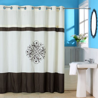 Lewiston Polyester Shower Curtain with Grommet