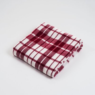 Lavish Home Plaid Acrylic Cashmere Throw Blanket