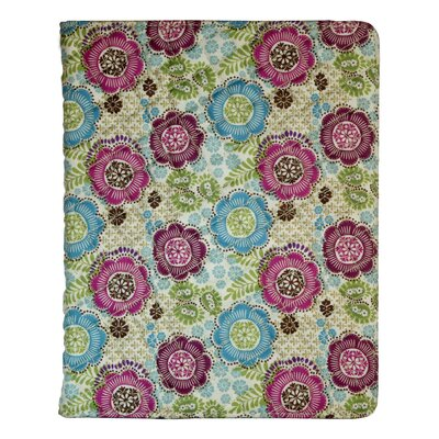 "Digital Treasures Folio Floral 10"" iPad Case"