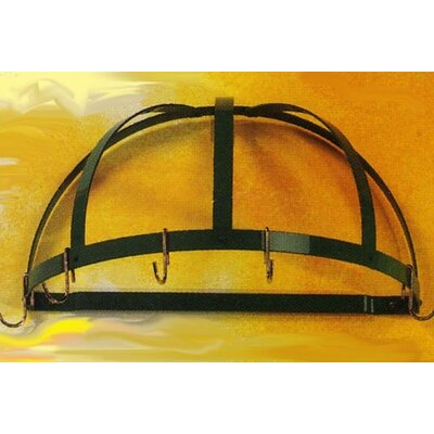 Gourmet Half Dome Wall Mounted Pot Rack