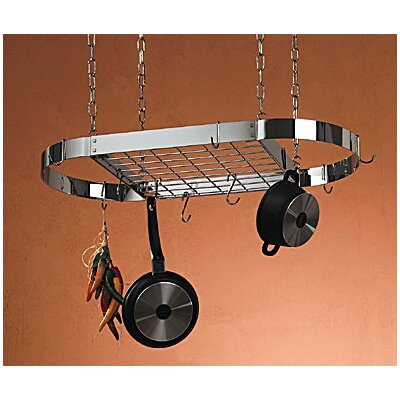 Pot Rack with Grid