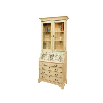 Arlington File Drawer Secretary Desk with Hutch