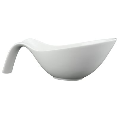 "Tannex White Tie 14.75"" Fish Serving Bowl"