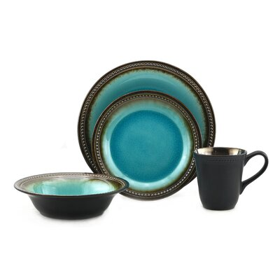 Tannex Bali 16 Piece Dinnerware Set