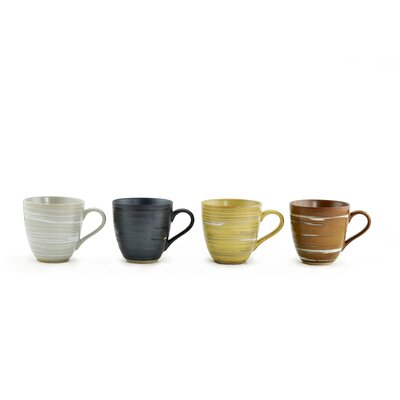 Tannex 10 oz. Met Mug (Set of 4)