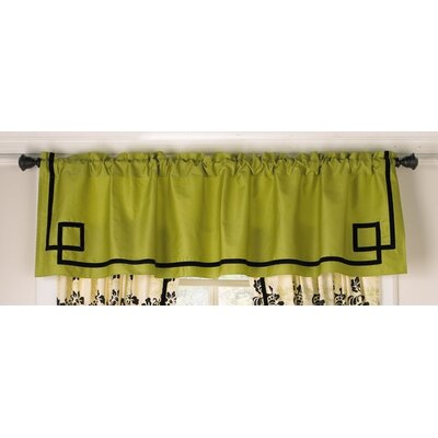 Cocalo Couture Harlow Rod Pocket Tailored Window Curtain Valance