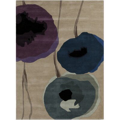 Olive Gray/Prune Purple Rug