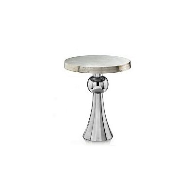 Modern Day Accents Ball Skirt End Table