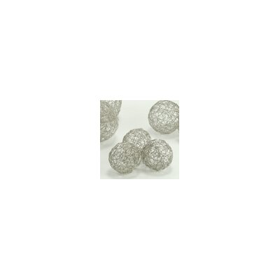 Modern Day Accents Wire Sphere (Set of 3)
