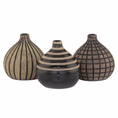 Modern Day Accents 3 Piece Onion Vase Set