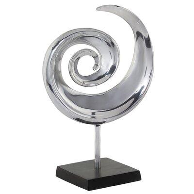 Modern Day Accents Swirl Sculpture