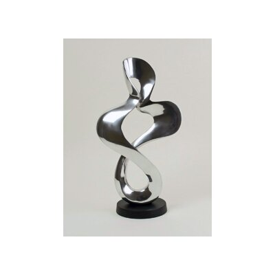 Modern Day Accents Aluminum Wiggly Sculpture