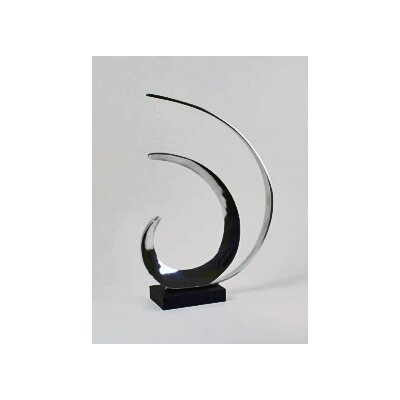 Modern Day Accents Aluminum Wave Sculpture