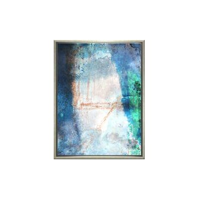 Modern Living Ice Age Framed Wall Art