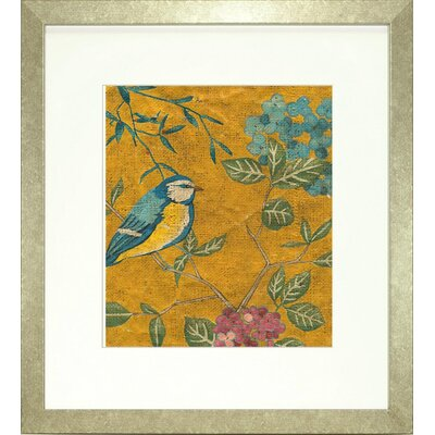 Floral Living Golden Chinoiserie II Framed Wall Art