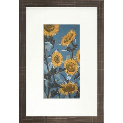 Floral Living Sunflower II Framed Wall Art