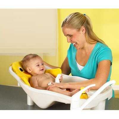 Primo Bath Tub and Ducky Toy Bag Set