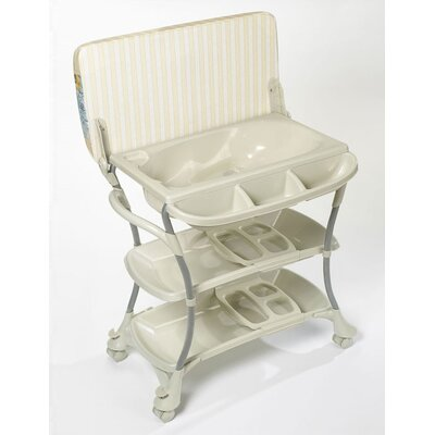Primo Euro Spa Baby Bathtub and Changer Combo