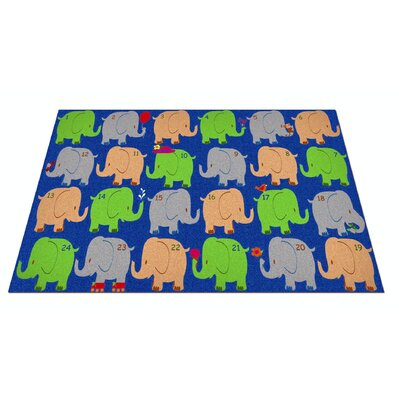 KidCarpet.com Elephant Seating Classroom Kids Rug