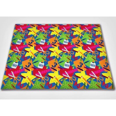 KidCarpet.com Arts and Crafts Kids Rug