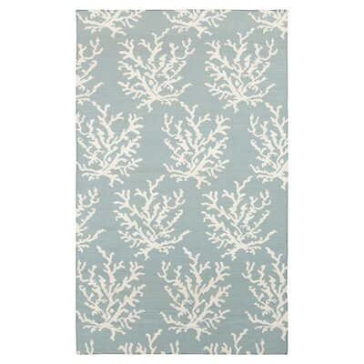 Boardwalk Powder Blue/White Rug