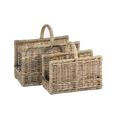 Ibolili French Magazine Basket (Set of 2)