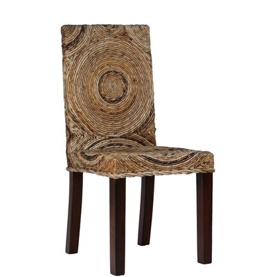 Ibolili Circles Banana Leaf Side Chair