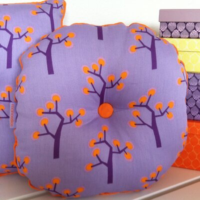 Graphic Tree Kids Round Pillow
