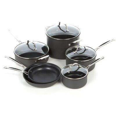 Cuisinart Chef's Classic Nonstick Hard-Anodized 10-Piece Cookware Set