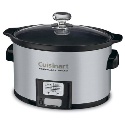 3.5-Quart Programmable Slow Cooker