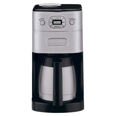 Cuisinart Dgb900bcu Grind And Brew Coffee Maker Review : Cuisinart 10-Cup Thermal Automatic Coffee Maker & Reviews Wayfair
