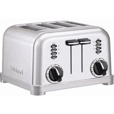 Cuisinart 4-Slice Toaster in Brushed Stainless Steel