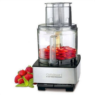 Cuisinart Custom 14-Cup Food Processor in Black Chrome